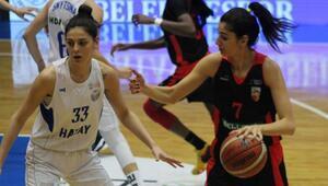 Kayseri Basketbolu farklı geçen Hatay BŞB, G.Saray ile eşleşti
