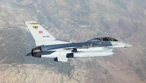 Irakın kuzeyine hava harekatı Terör örgütü hedefleri imha edildi