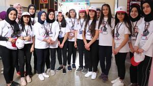 Nobel ödüllü Aziz Sancar, Midyatlı öğrencilere ışık oldu