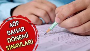 14 Nisan AÖF sınavı saat kaçta bitiyor AÖF sınavı kaç dakika sürüyor