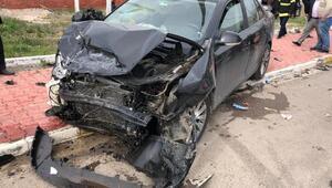 Elbistanda kaza: 3 yaralı