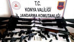 Kaçak silah operasyonunda dede ve 2 torununa gözaltı
