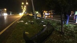 3 aracın karıştığı kazada, 6 kişi yaralandı
