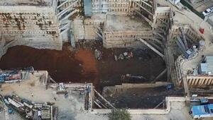 Ümraniye'de metro inşaatı göçüğü soruşturması: 16 kişiye dava açıldı