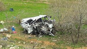 Diyarbakırda otomobiller çarpıştı: 5 ölü, 4 yaralı