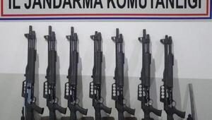 Denizlide silah kaçakçılığına 5 gözaltı