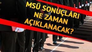 Milli Savunma Üniversitesi (MSÜ) sınav sonuçları ne zaman açıklanacak   Gözler o tarihte