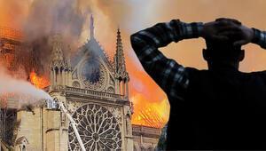 Dünyaca ünlü Notre Dame Katedrali yangınla kül oldu