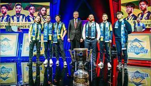 KMF 2019'da şampiyon 1907 Fenerbahçe Espor