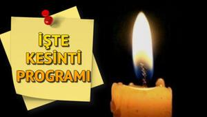 Elektrikler ne zaman gelecek 16 Nisan elektrik kesintisi programı