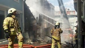 Son dakika... İstanbulda korkutan yangın