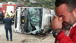Antalyada midibüs devrildi: Ölü ve yaralılar var