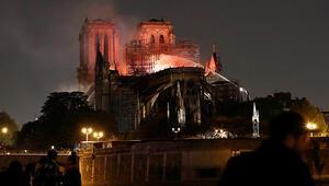 Notre Dame için şimdiye kadar 688 milyon euro bağış