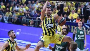 Fenerbahçe Beko, Zalgiris Kaunası farklı mağlup ederek seride 1-0 öne geçti