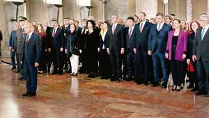 İzmirli başkanlar Ankara'da