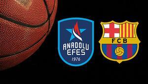 Anadolu Efes Barcelona Lassa maçı ne zaman saat kaçta ve hangi kanalda