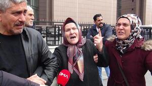 Acılı anne mahkemenin kararına feryat etti
