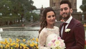 Hakan Çalhanoğlu, evliliğindeki kara bulutları dağıttı