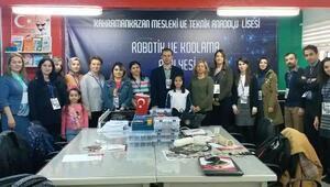 Kahramankazan'da Robotik Kodlama Atölyesi kuruldu