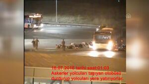 FETÖnün Atatürk Havalimanını işgal girişimi davasında Aprondan yeni görüntüler