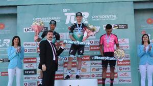 Cumhurbaşkanlığı Türkiye Bisiklet Turunun ikinci etabı tamamlandı