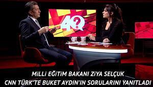 Milli Eğitim Bakanı Ziya Selçuk: Bunu çok anlatmayın, kötü örnek oluyorsunuz.' diyenler var