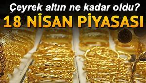 Altın fiyatları günü nasıl kapattı  | 18 Nisan Kapalıçarşı altın fiyatları