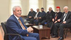 Süryani cemaatinden AK Partili başkana ziyaret