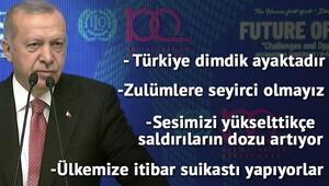 Son dakika Cumhurbaşkanı Erdoğan: YSK noktayı koyduğu zaman bizim için de mesele bitmiştir