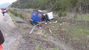 Sinopta devrilen TIRın sürücüsü öldü