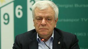 Bursasporda Ali Ay eleştirilere cevap verdi