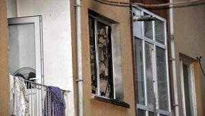 Ankarada evde çıkan yangında dumandan etkilenen 5 kişi hastaneye kaldırıldı