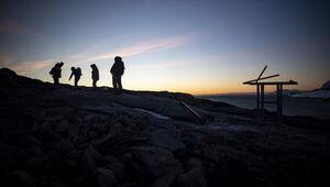 Antarktikadan dönen bilim insanları deneyimlerini öğrencilerle paylaştı