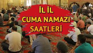 İstanbul Ankara İzmir 19 Nisan cuma namazı saatleri   Cuma namazı bugün saat kaçta kılınacak