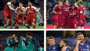 Avrupa kupalarına İngiliz takımları damga vurdu