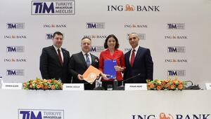 TİM ve ING Banktan ihracatçıları destekleyecek iş birliği