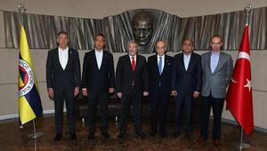 İstanbul Emniyet Müdürü Mustafa Çalışkan, Ali Koçu ziyaret etti