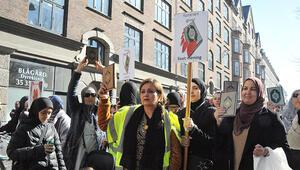 Paludan'a karşı 'kutsal kitaplara saygı' yürüyüşü
