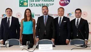 İstanbul'da tenis şöleni