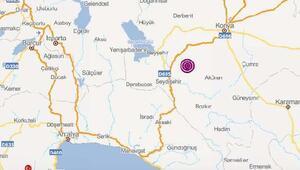 Konyada 3.5 ve 3.8 büyüklüğünde iki deprem