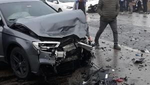 Trabzonsporun genç yıldızı Hüseyin Türkmen kaza geçirdi