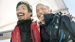 Pasifik'i geçen ilk görme engelli denizci