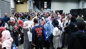 ABDdeki Müslümanların yıllık kongresine büyük ilgi