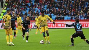 Yeni Malatyaspor serisini Trabzonda kaybetti