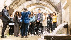 Total, Symrna Antik Kenti'nde gençleri ağırladı