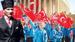 99'uncu yıl coşkusu... 23 Nisan Ulusal Egemenlik ve Çocuk Bayramı'nı kutluyoruz