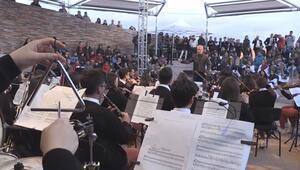 Göbeklitepede çocuklara özel senfoni konseri
