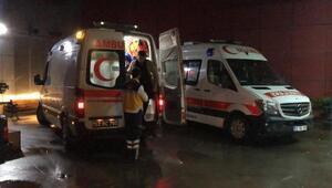 Elektik panosunda patlama; 9 kişi hastanelik oldu
