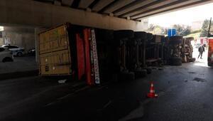 Son dakika... İstanbul trafiğini kilitleyen kaza