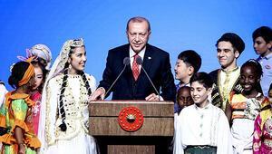 Erdoğan 23 Nisan gala programında çocuklara seslendi